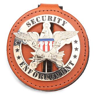 LawPro Tan Badge Holder