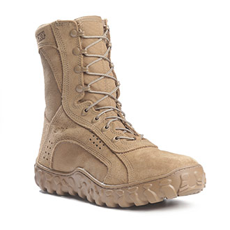 Waterproof Military And Combat Boots In Tan Brown And Desert