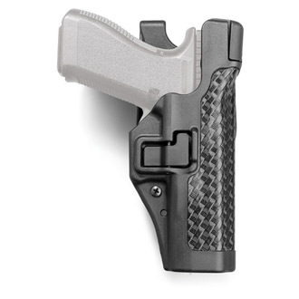 BLACKHAWK! SERPA Level III Duty Holster Plain or Basketweave Finish
