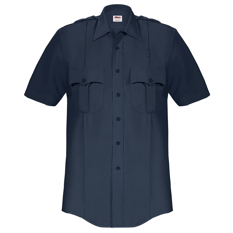 e63b5a36923c0 Elbeco Paragon Plus Polyester Cotton Short Sleeve Shirt
